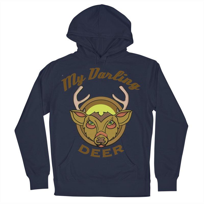 My Darling Deer Men's Pullover Hoody by TenAnchors's Artist Shop