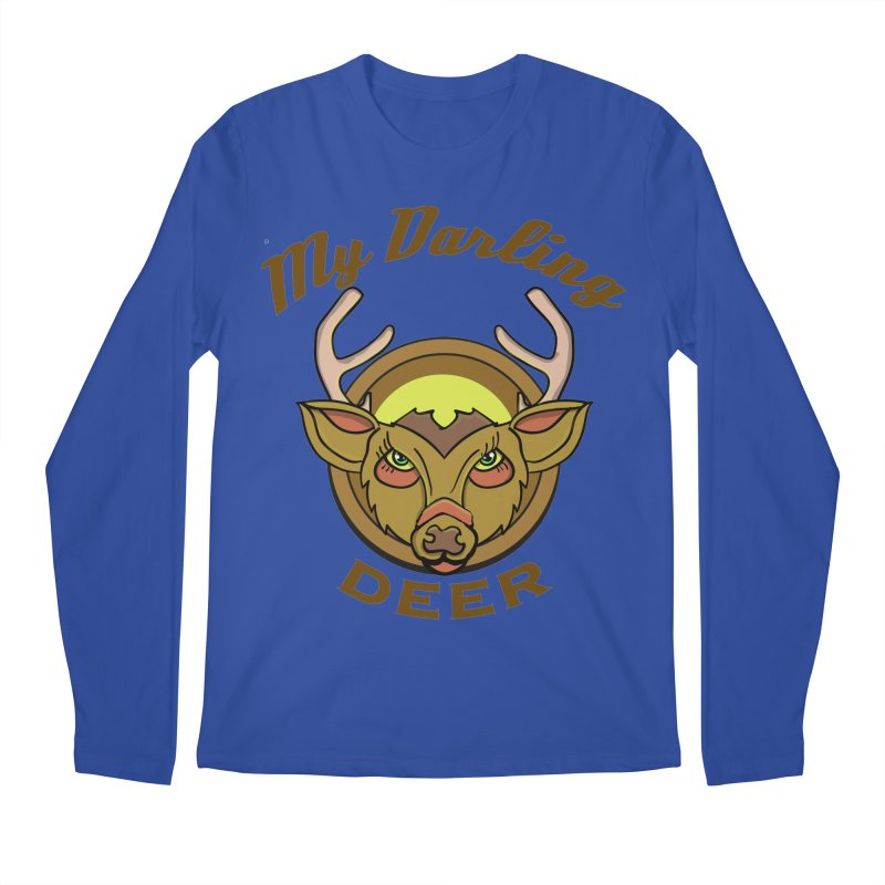 My Darling Deer Men's Longsleeve T-Shirt by TenAnchors's Artist Shop