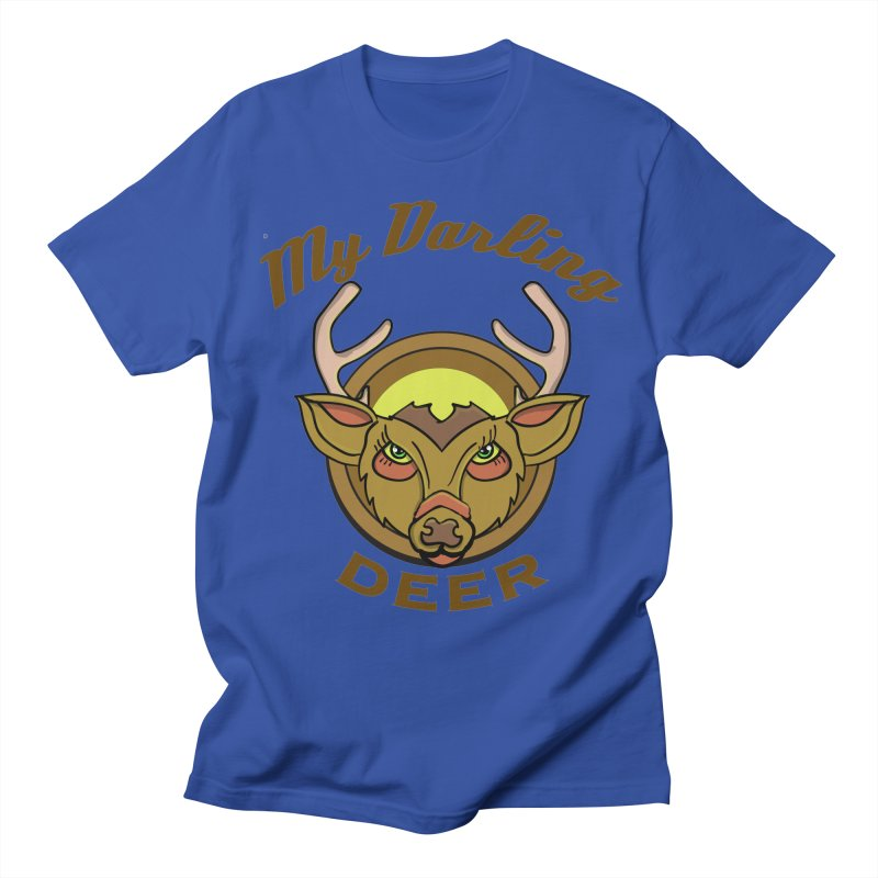 My Darling Deer Men's T-Shirt by TenAnchors's Artist Shop
