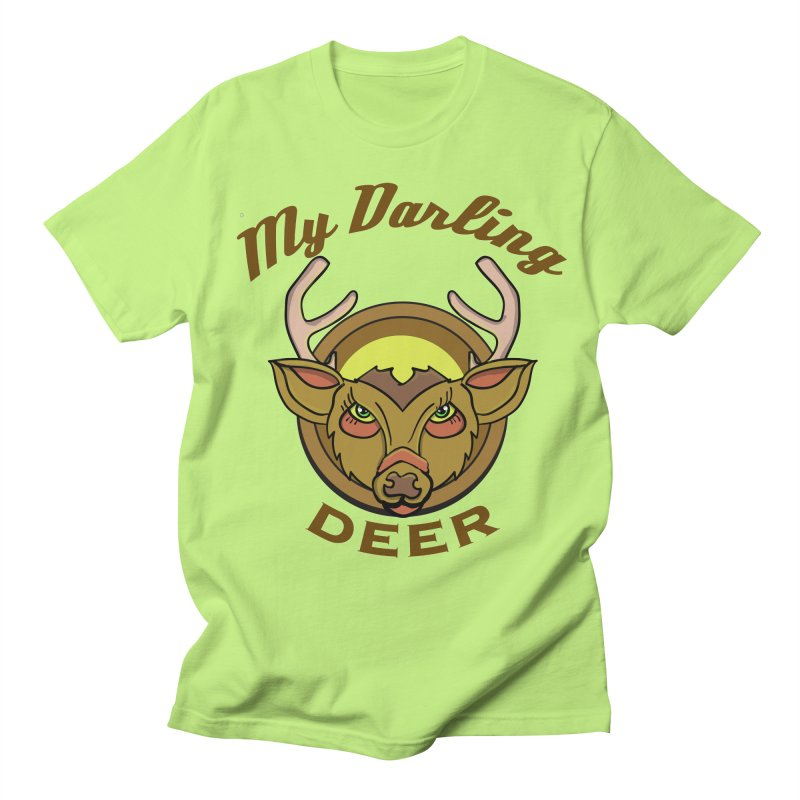 My Darling Deer Women's Unisex T-Shirt by TenAnchors's Artist Shop