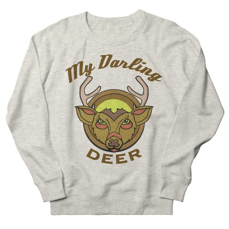 My Darling Deer Women's Sweatshirt by TenAnchors's Artist Shop