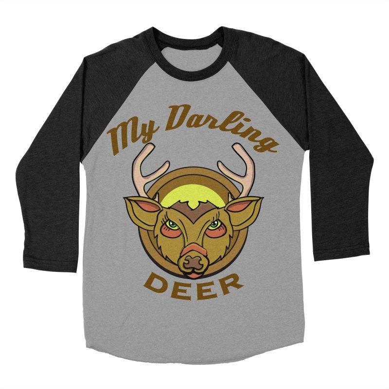 My Darling Deer Women's Baseball Triblend T-Shirt by TenAnchors's Artist Shop