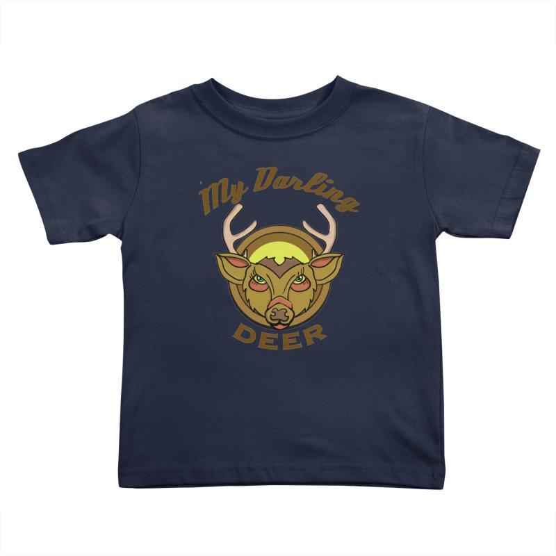 My Darling Deer Kids Toddler T-Shirt by TenAnchors's Artist Shop