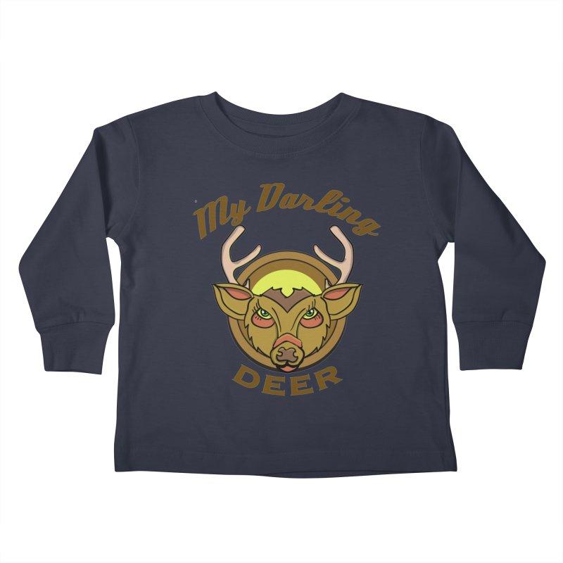 My Darling Deer Kids Toddler Longsleeve T-Shirt by TenAnchors's Artist Shop