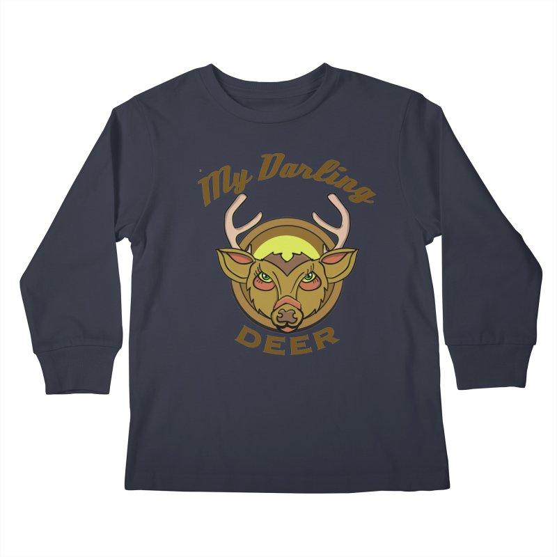 My Darling Deer Kids Longsleeve T-Shirt by TenAnchors's Artist Shop