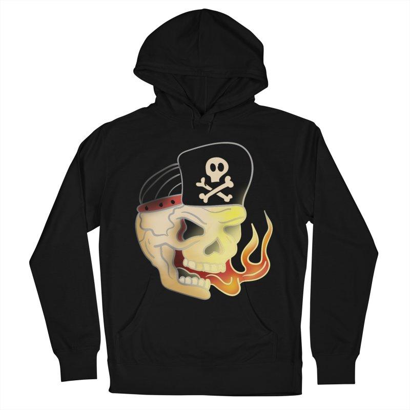 Skull Skate Punk Women's Pullover Hoody by TenAnchors's Artist Shop