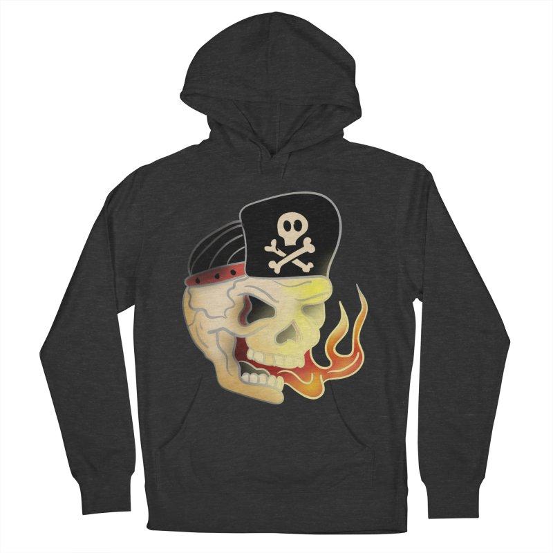 Skull Skate Punk Men's Pullover Hoody by TenAnchors's Artist Shop