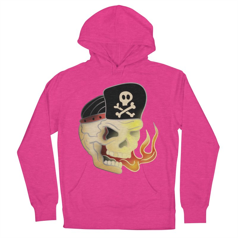Skull Skate Punk Men's Pullover Hoody by TenAnchors's Artist Shop