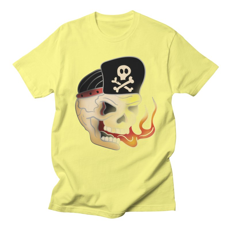 Skull Skate Punk Women's Unisex T-Shirt by TenAnchors's Artist Shop