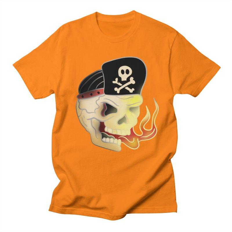 Skull Skate Punk Women's Unisex T-Shirt by TenAnchors's Artist Shop