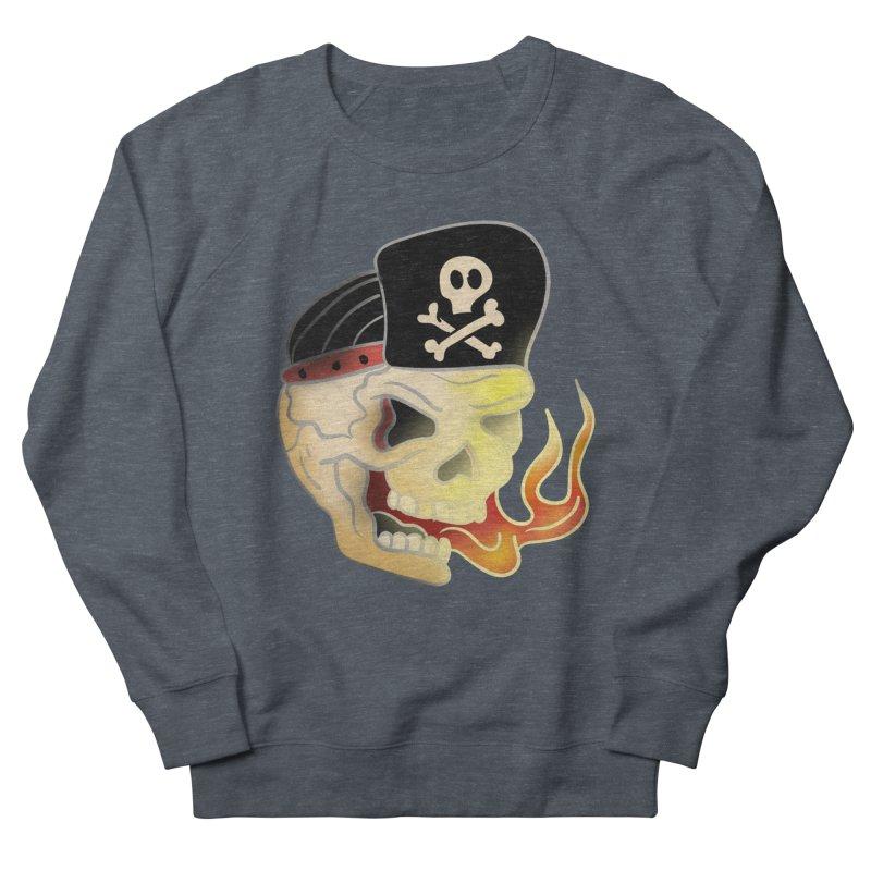 Skull Skate Punk Women's Sweatshirt by TenAnchors's Artist Shop