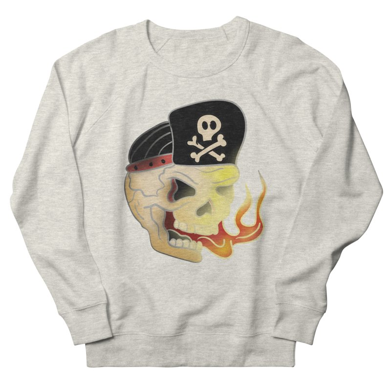 Skull Skate Punk Men's Sweatshirt by TenAnchors's Artist Shop
