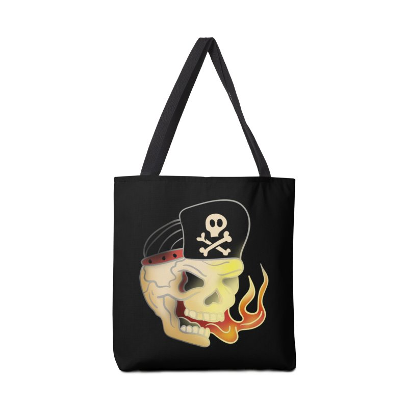 Skull Skate Punk Accessories Bag by TenAnchors's Artist Shop