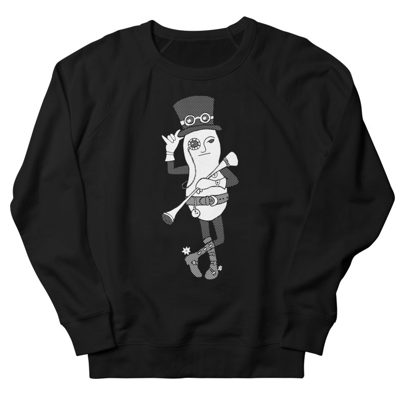 Peanut's Steampunk Years Men's French Terry Sweatshirt by TenEastRead's Artist Shop