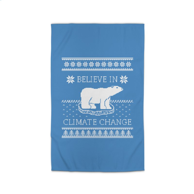 Polar Bears Against Climate Change Ugly Sweater Home Rug by TenEastRead's Artist Shop