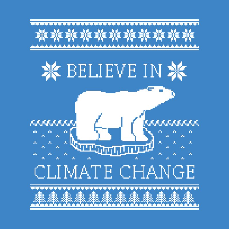 Polar Bears Against Climate Change Ugly Sweater Women's Longsleeve T-Shirt by TenEastRead's Artist Shop