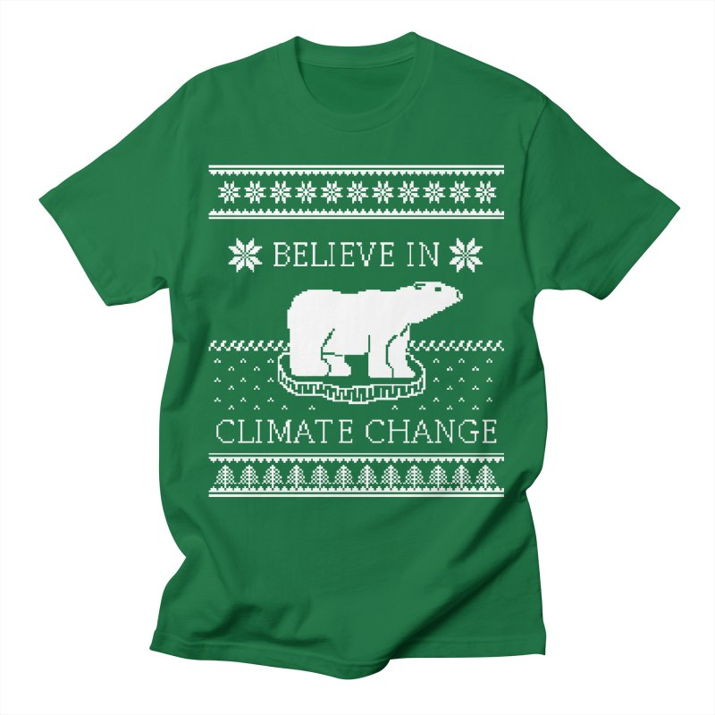 Polar Bears Against Climate Change Ugly Sweater Women's T-Shirt by TenEastRead's Artist Shop