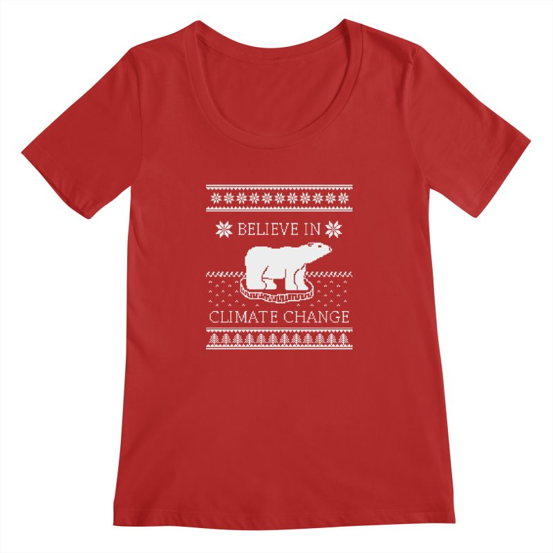 Polar Bears Against Climate Change Ugly Sweater   by TenEastRead's Artist Shop
