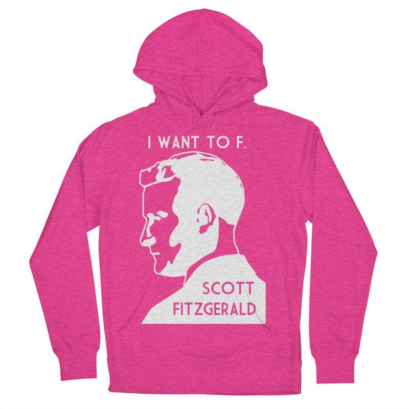 I Want to F. Scott Fitzgerald Men's Pullover Hoody by TenEastRead's Artist Shop
