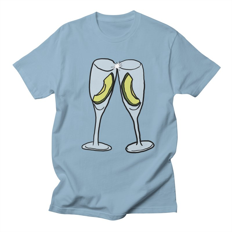 Avocado Toast Men's Regular T-Shirt by TenEastRead's Artist Shop