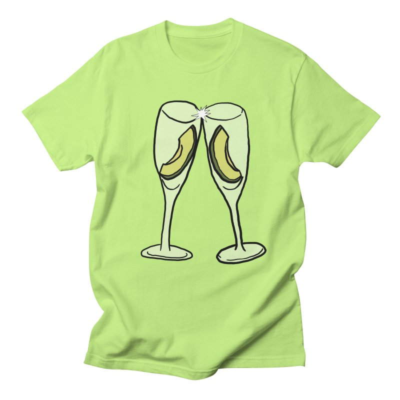 Avocado Toast Women's Regular Unisex T-Shirt by TenEastRead's Artist Shop