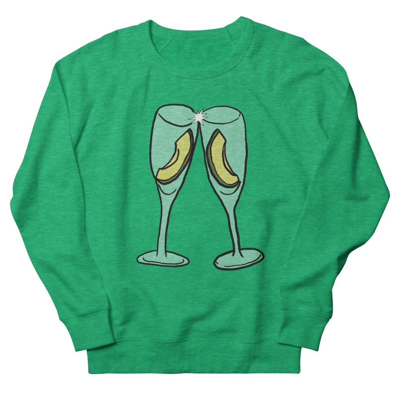 Avocado Toast Women's Sweatshirt by TenEastRead's Artist Shop