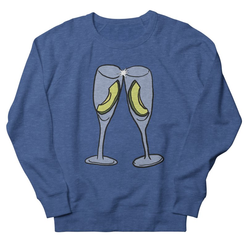 Avocado Toast Men's Sweatshirt by TenEastRead's Artist Shop