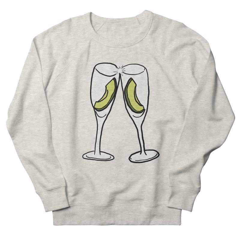 Avocado Toast Men's French Terry Sweatshirt by TenEastRead's Artist Shop