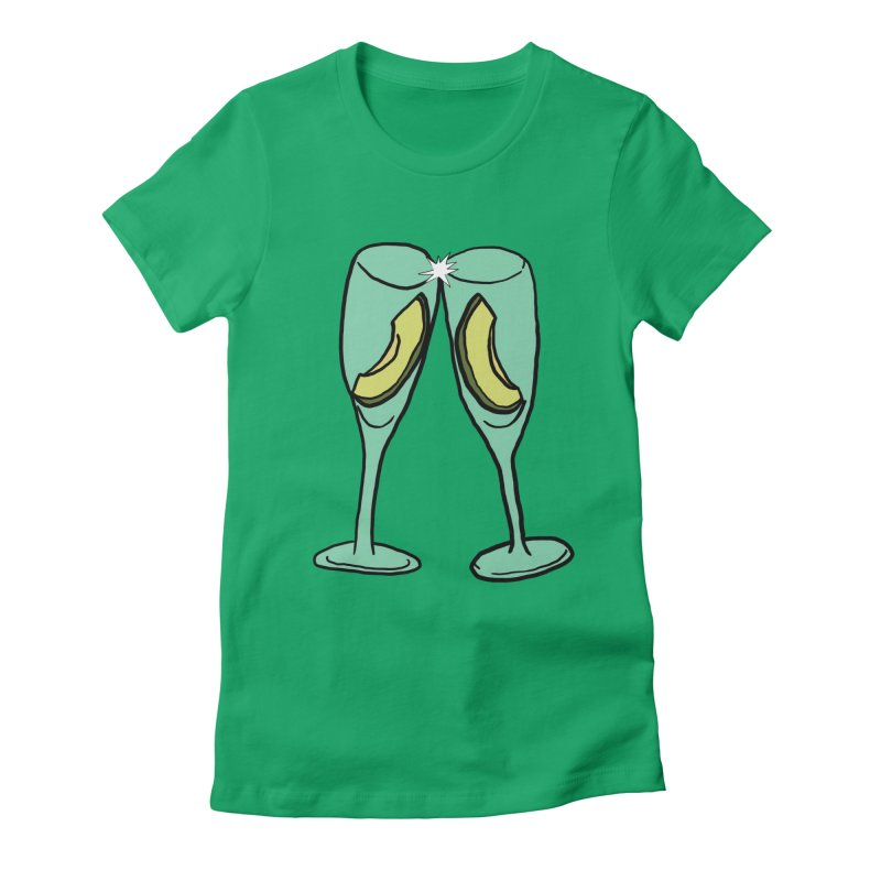 Avocado Toast Women's Fitted T-Shirt by TenEastRead's Artist Shop