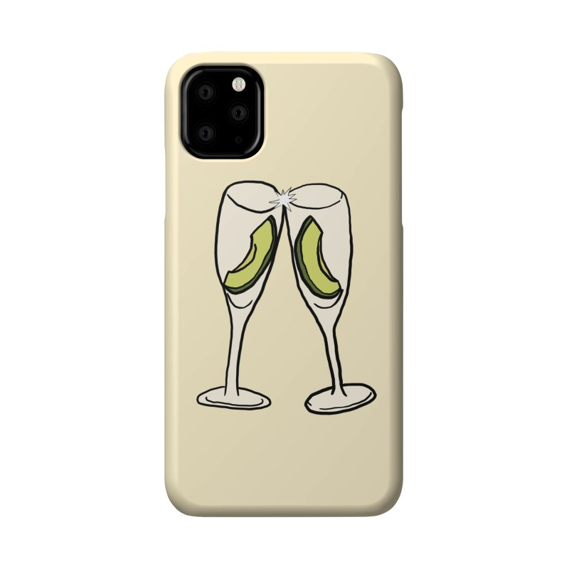 Avocado Toast Accessories Phone Case by TenEastRead's Artist Shop