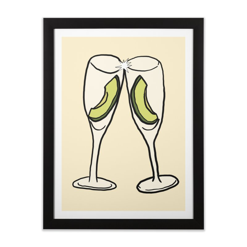 Avocado Toast Home Framed Fine Art Print by TenEastRead's Artist Shop