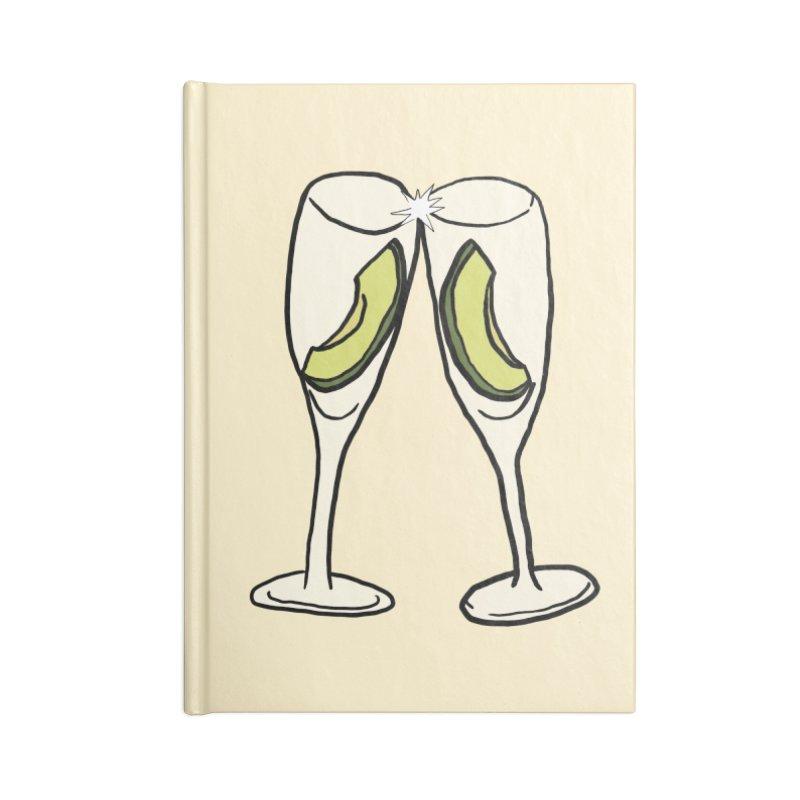 Avocado Toast Accessories Notebook by TenEastRead's Artist Shop