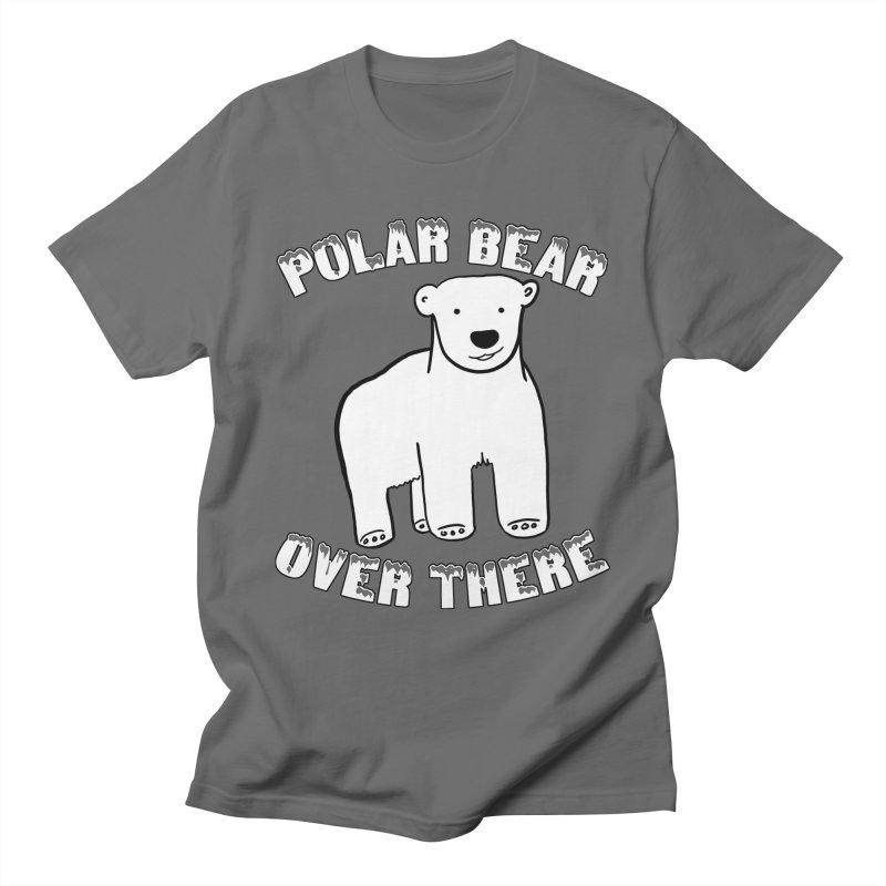 Polar Bear Over There Men's T-Shirt by TenEastRead's Artist Shop