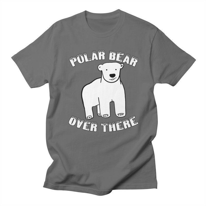 Polar Bear Over There Men's T-Shirt by TenEastRead's Artist Shop