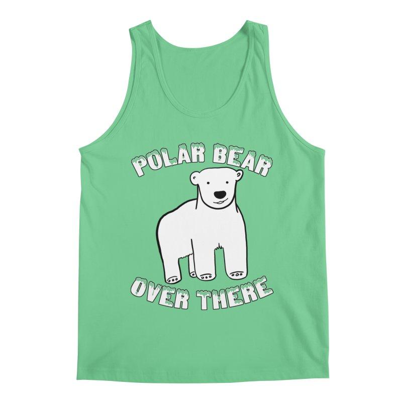 Polar Bear Over There Men's Regular Tank by TenEastRead's Artist Shop