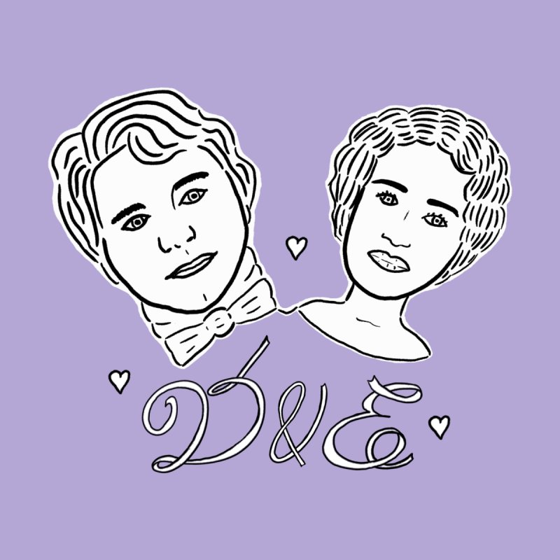 Darcy & Elizabeth Kids T-Shirt by TenEastRead's Artist Shop