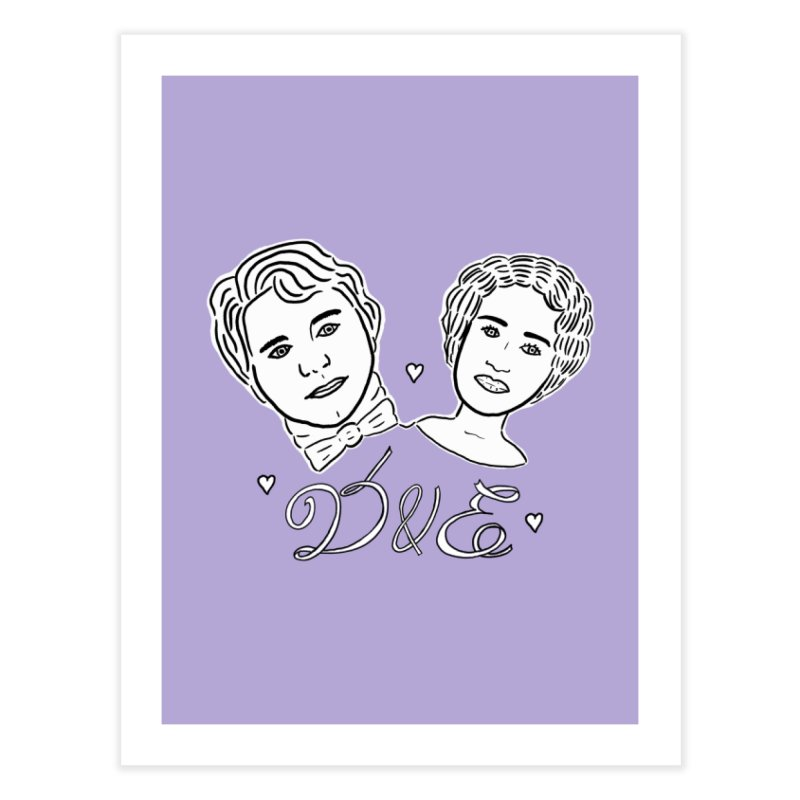 Darcy & Elizabeth Home Fine Art Print by TenEastRead's Artist Shop