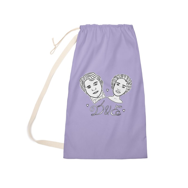 Darcy & Elizabeth Accessories Laundry Bag Bag by TenEastRead's Artist Shop