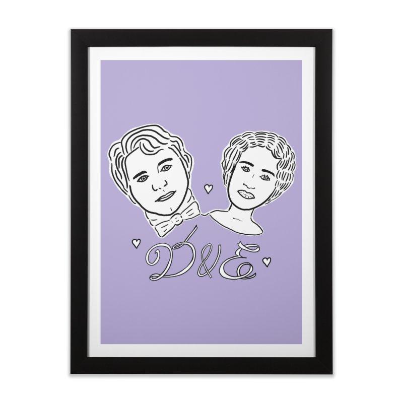 Darcy & Elizabeth Home Framed Fine Art Print by TenEastRead's Artist Shop