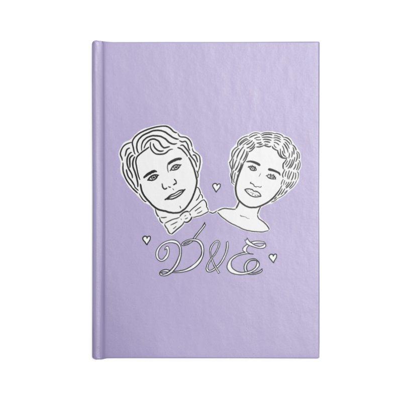 Darcy & Elizabeth Accessories Notebook by TenEastRead's Artist Shop