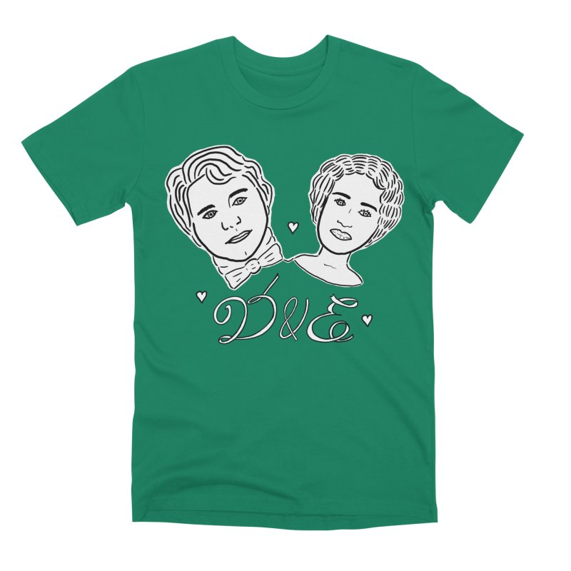 Darcy & Elizabeth Men's Premium T-Shirt by TenEastRead's Artist Shop