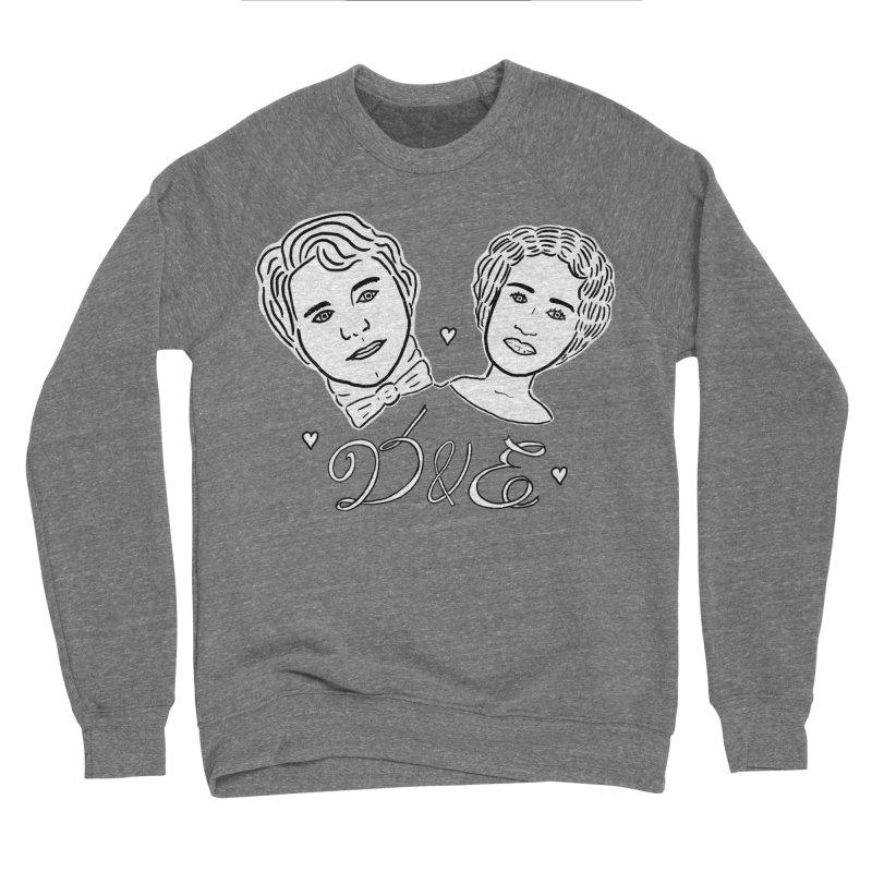 Darcy & Elizabeth Men's Sponge Fleece Sweatshirt by TenEastRead's Artist Shop