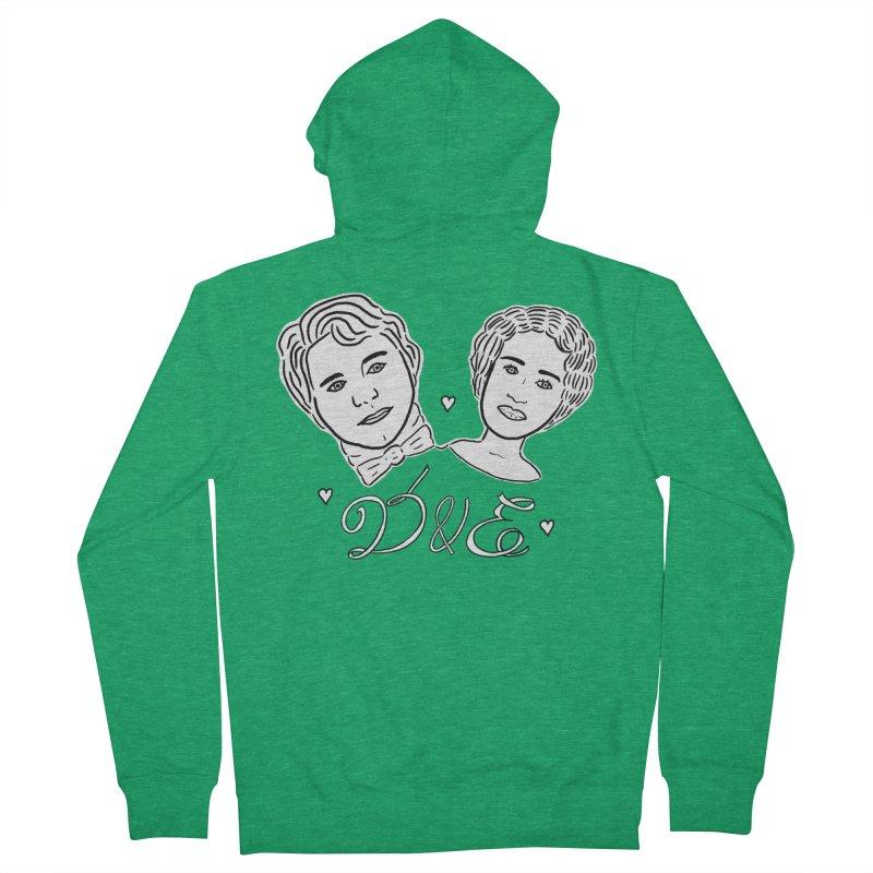 Darcy & Elizabeth Women's French Terry Zip-Up Hoody by TenEastRead's Artist Shop