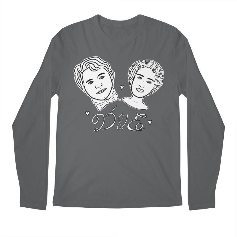 Darcy & Elizabeth Men's Longsleeve T-Shirt by TenEastRead's Artist Shop
