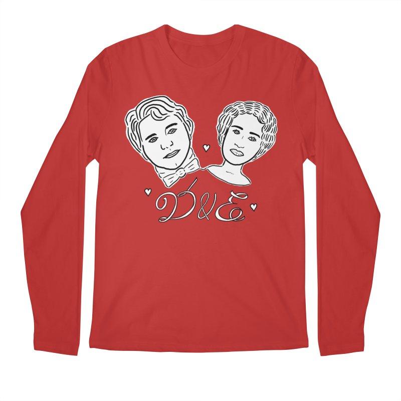 Darcy & Elizabeth Men's Regular Longsleeve T-Shirt by TenEastRead's Artist Shop