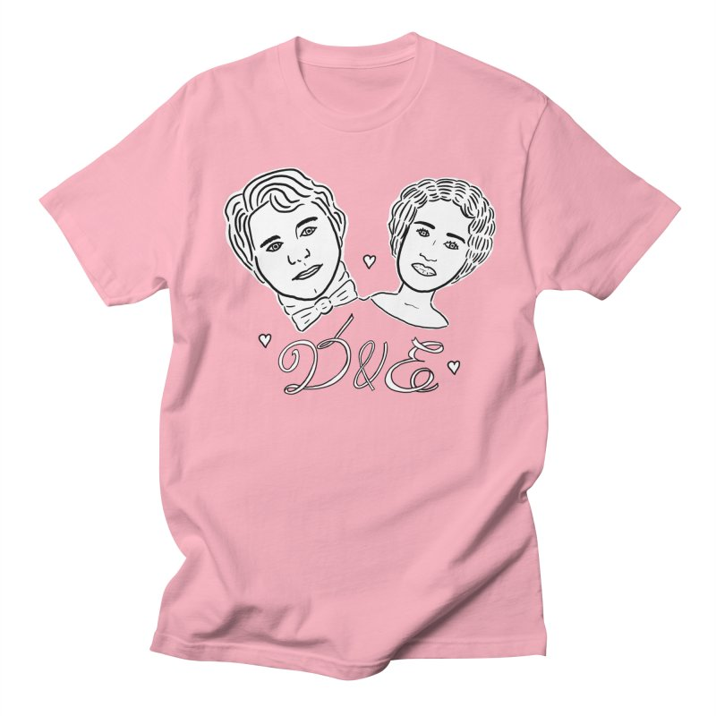 Darcy & Elizabeth Women's Regular Unisex T-Shirt by TenEastRead's Artist Shop