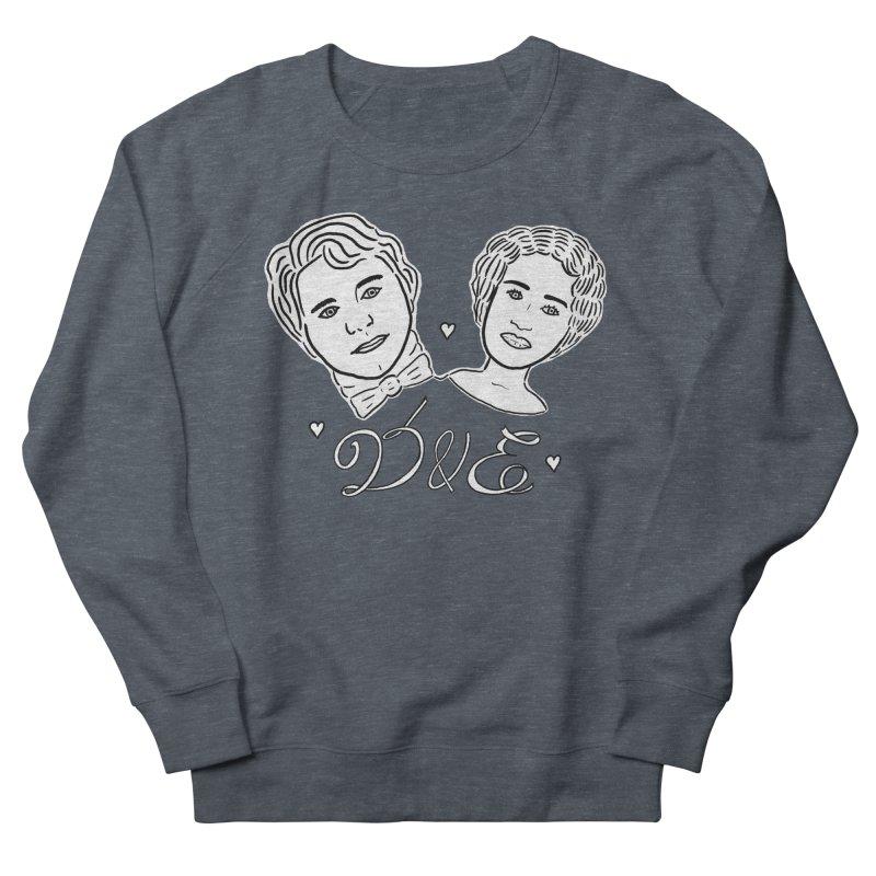 Darcy & Elizabeth Men's French Terry Sweatshirt by TenEastRead's Artist Shop