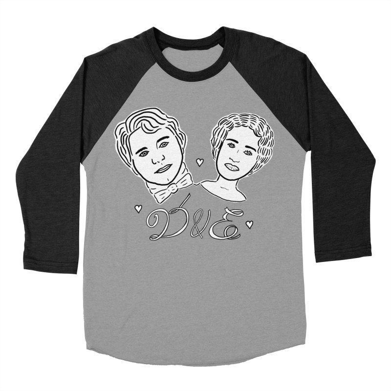 Darcy & Elizabeth Men's Baseball Triblend Longsleeve T-Shirt by TenEastRead's Artist Shop