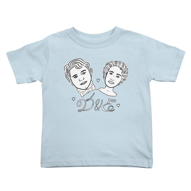 Darcy & Elizabeth Kids Toddler T-Shirt by TenEastRead's Artist Shop