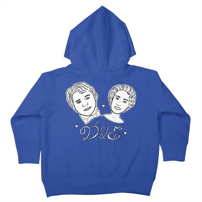 Darcy & Elizabeth Kids Toddler Zip-Up Hoody by TenEastRead's Artist Shop